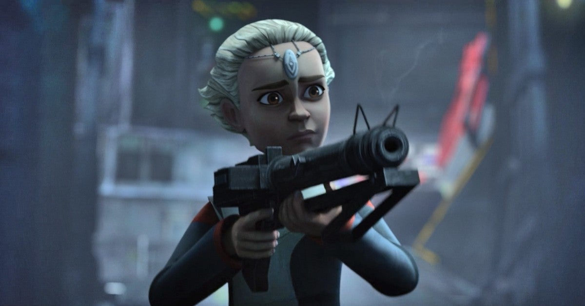 Star Wars The Bad Batch Spoilers Omega Origin Enhanced Clone