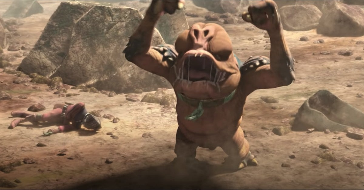 Star Wars The Bad Batch trailer Baby Rancor