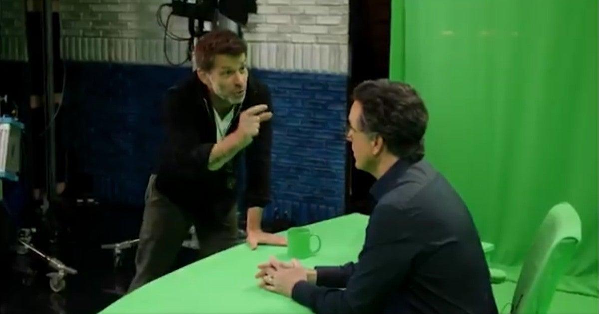 Stephen Colbert Zack Snyder A Late Show Joke Skit
