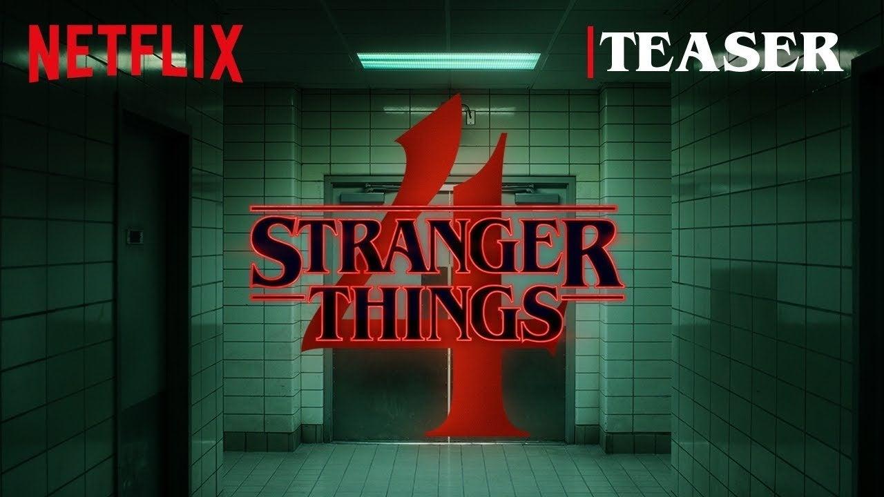 stranger things 4 teaser
