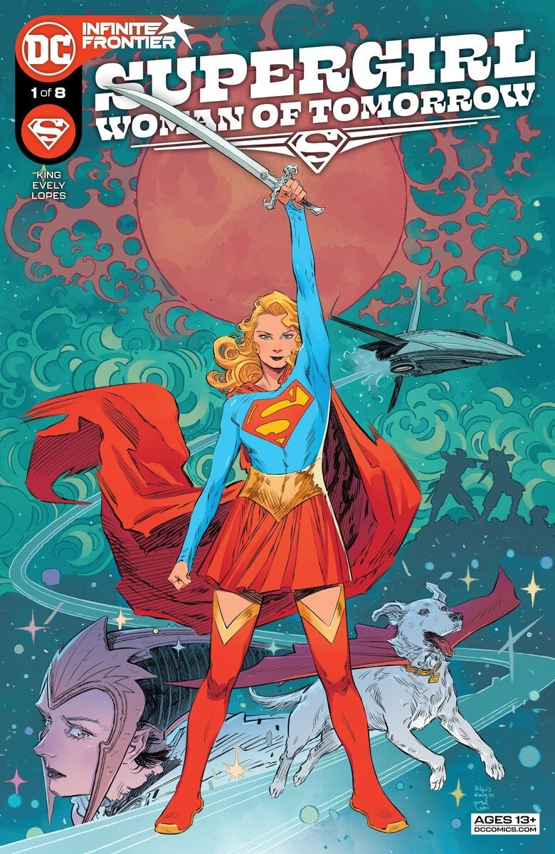supergirl woman of tomorrow 1 cover
