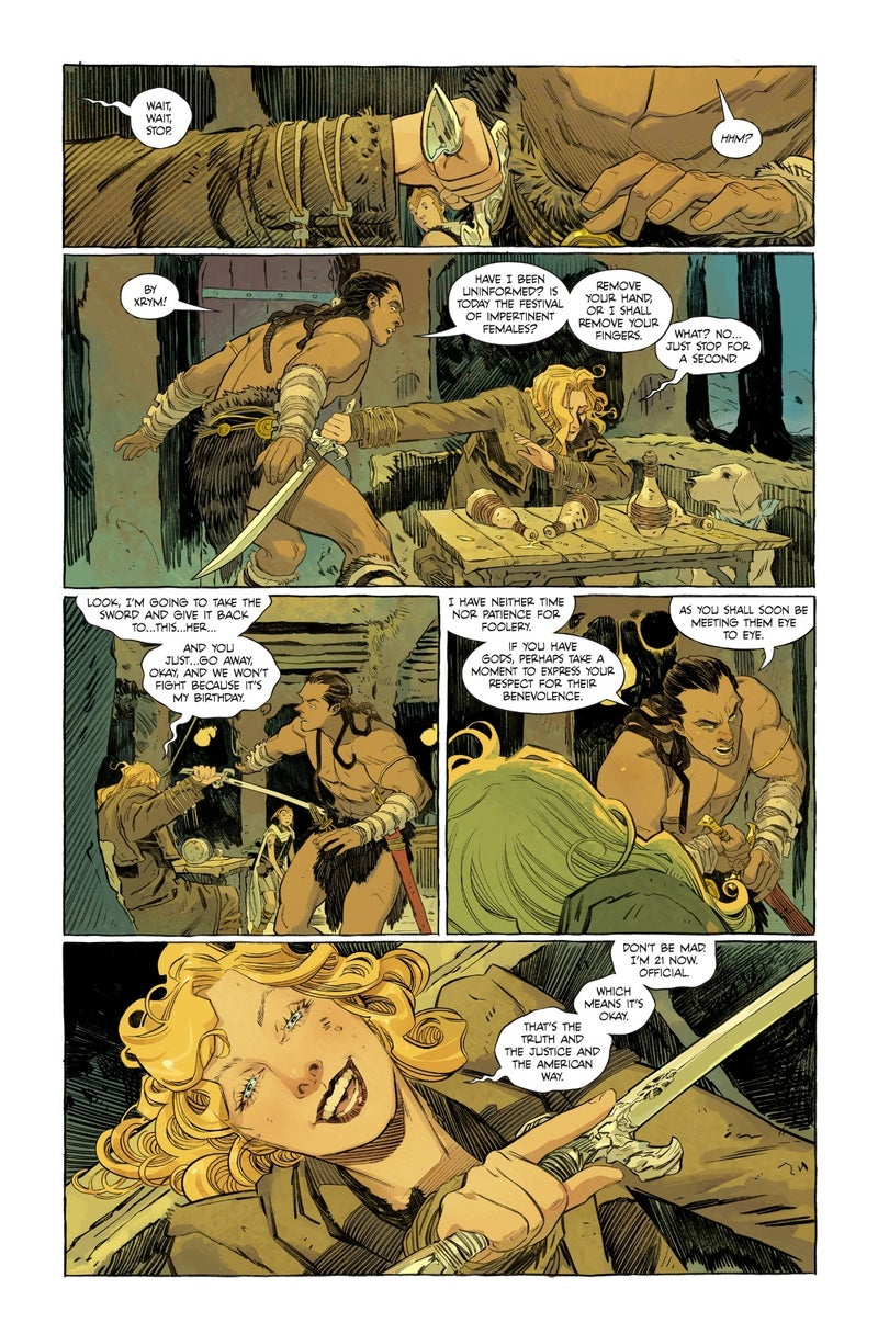 supergirl woman of tomorrow 1 preview 04
