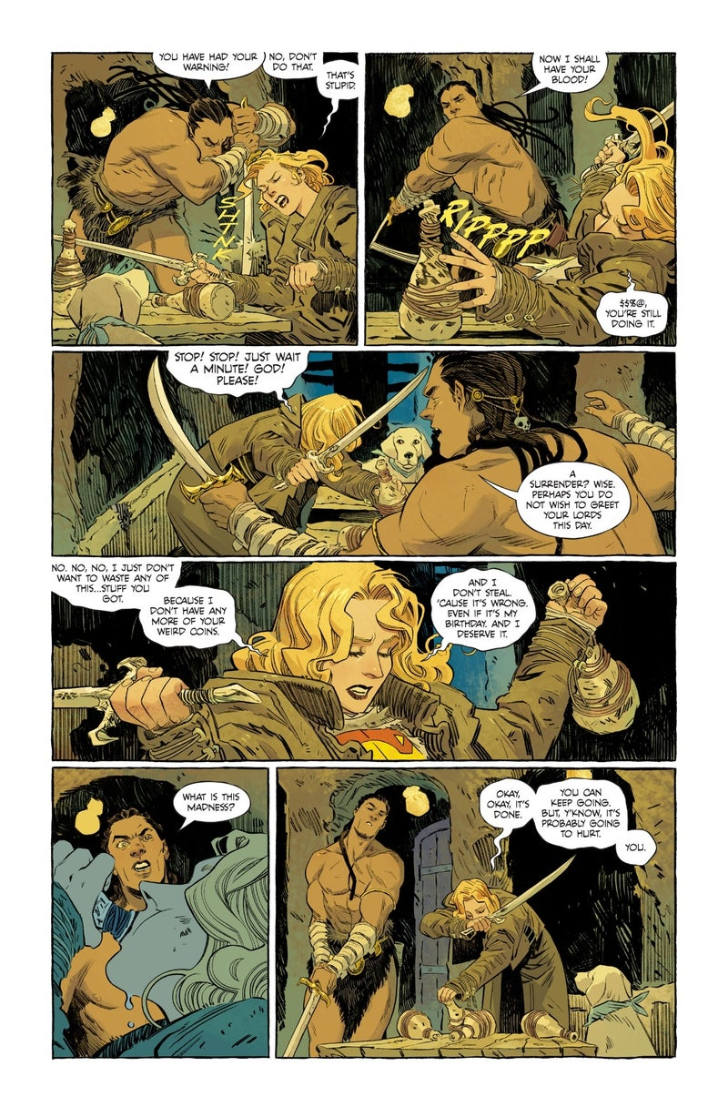supergirl woman of tomorrow 1 preview 05