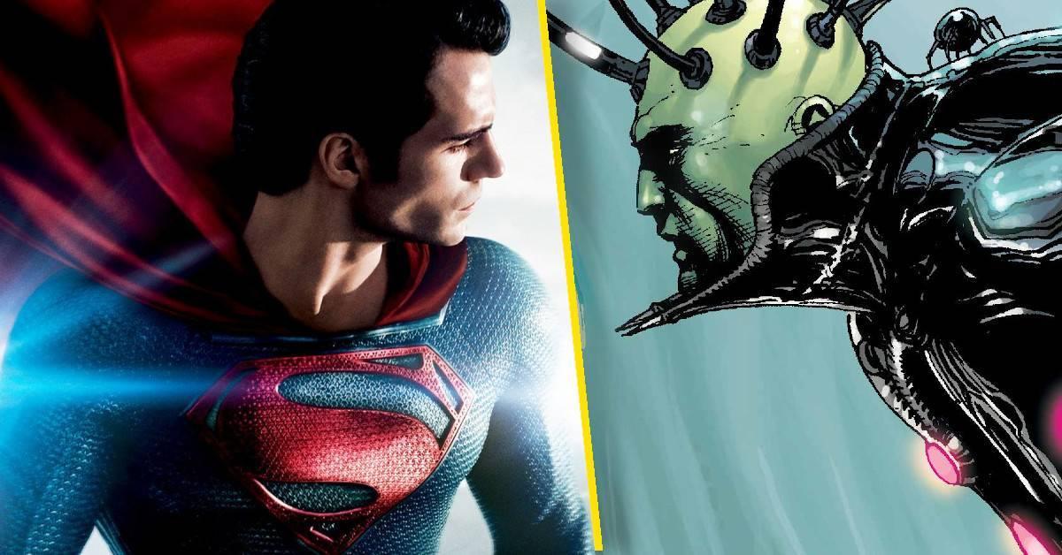 superman man of steel two brainiac