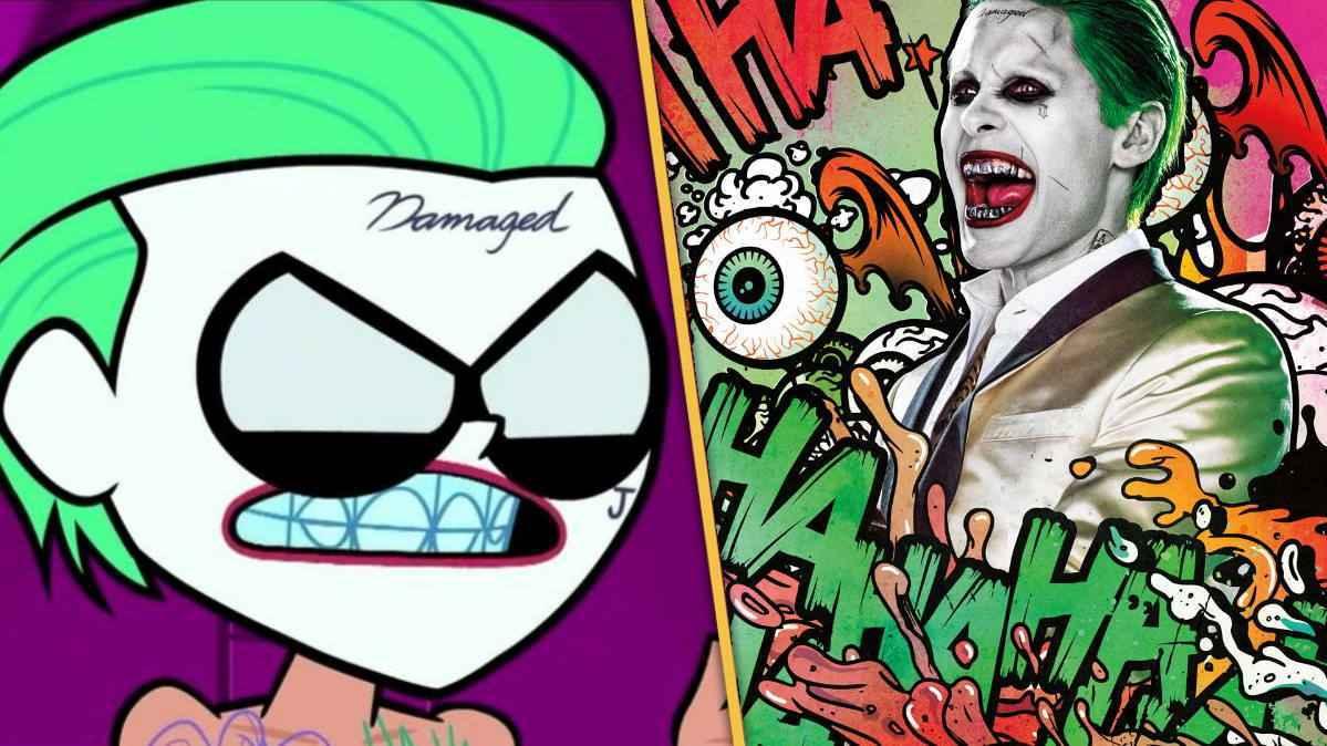 Teen Titan Go Robin Joker Jared Leto