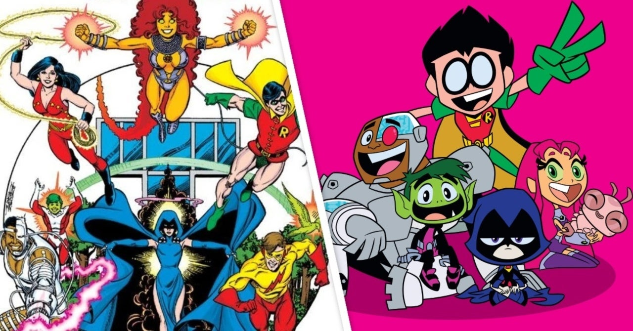 Teen Titans Go!: Marv Wolfman and George Perez to Appear in Upcoming Episode