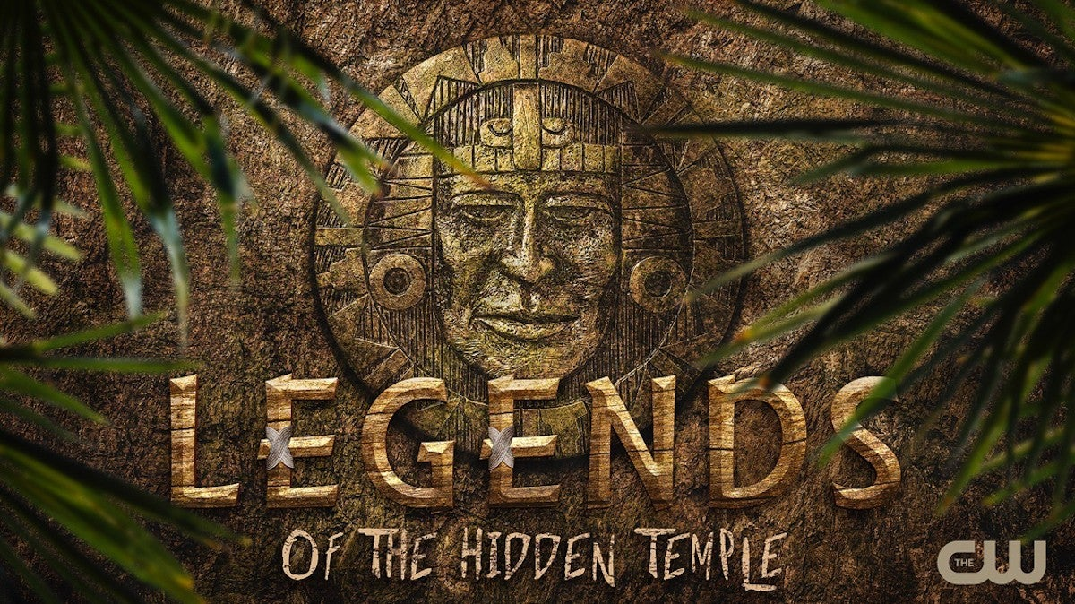 The CW Legends of the Hidden Temple Reboot Poster