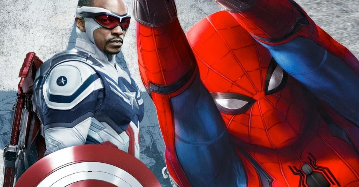 The Falcon and the Winter Soldier Captain America Spider-Man COMICBOOKCOM