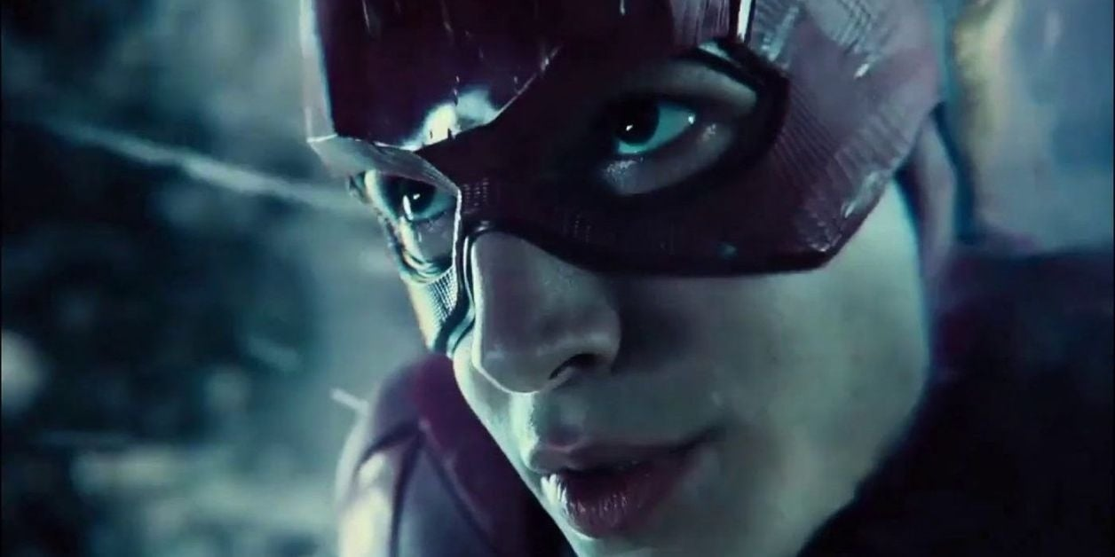 the flash ezra miller snyder cut justice league time travel