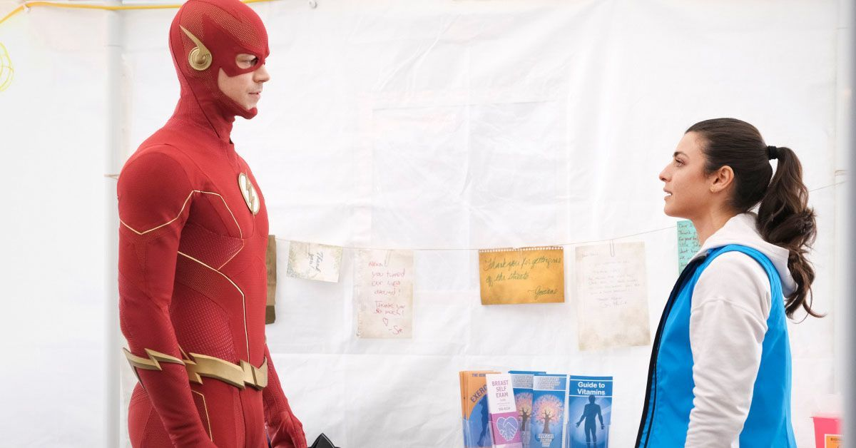 the flash people v killer frost photos