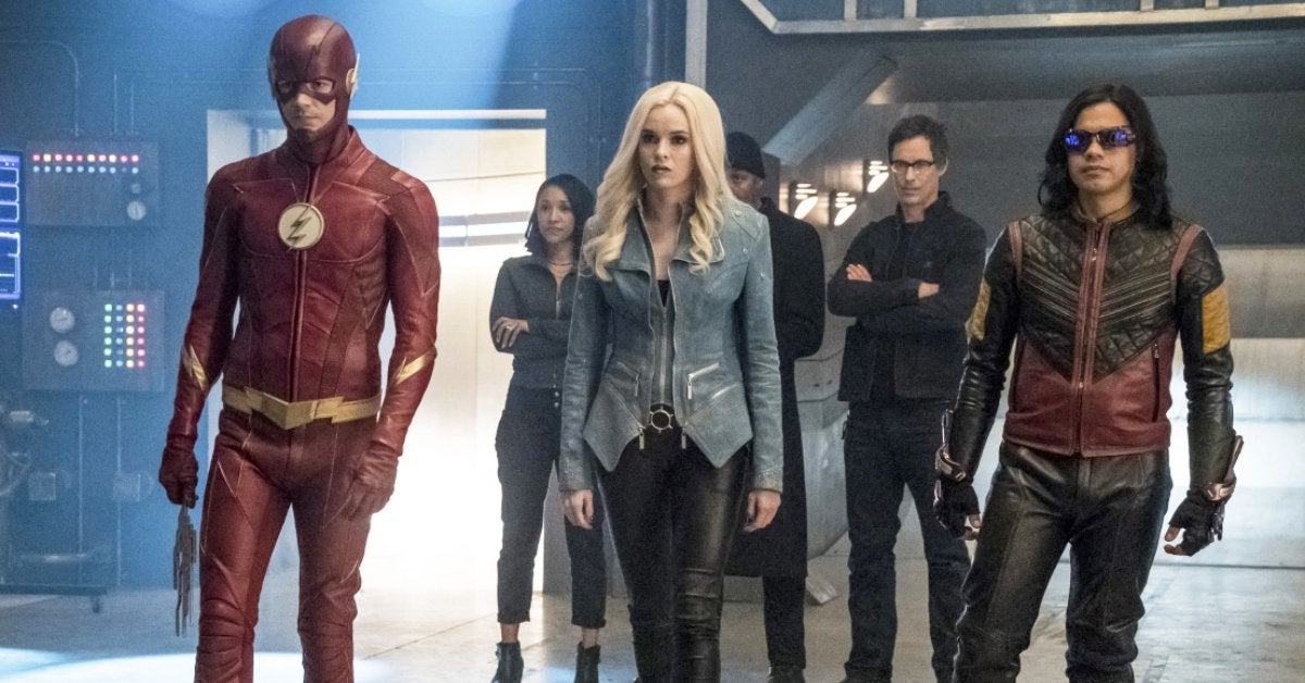 the flash team flash season 4