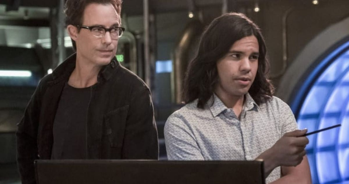 the flash Tom Cavanagh and Carlos Valdes leaving series