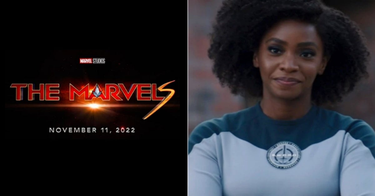 The Marvels Captain Marvel 2 Teyonah Parris Monica Rambeau