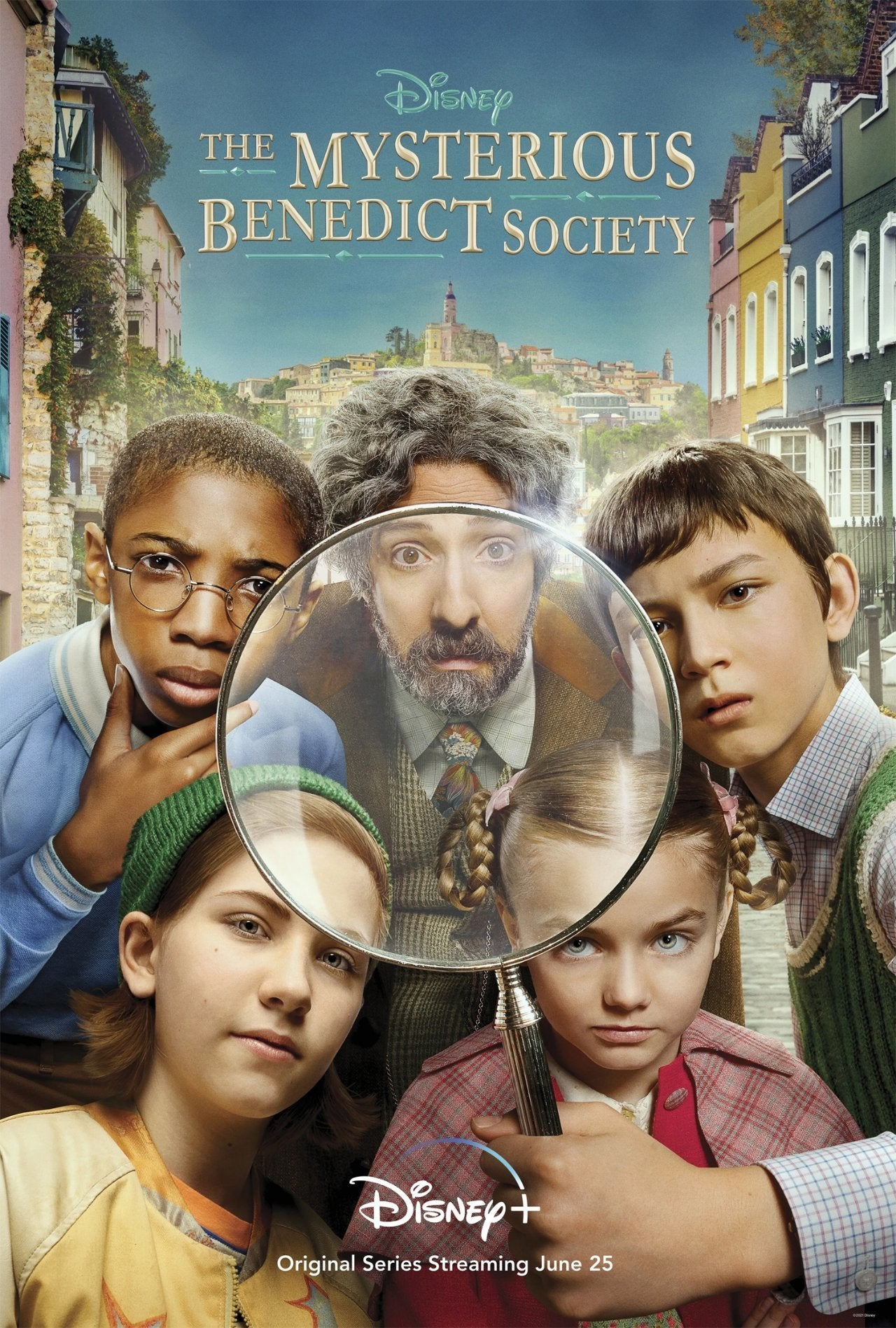 the mysterious benedict society series poster
