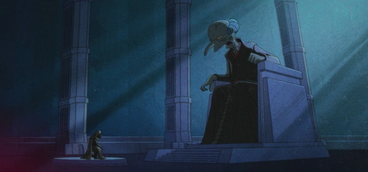 the simpsons star wars crossover force awakens from its nap burns snoke