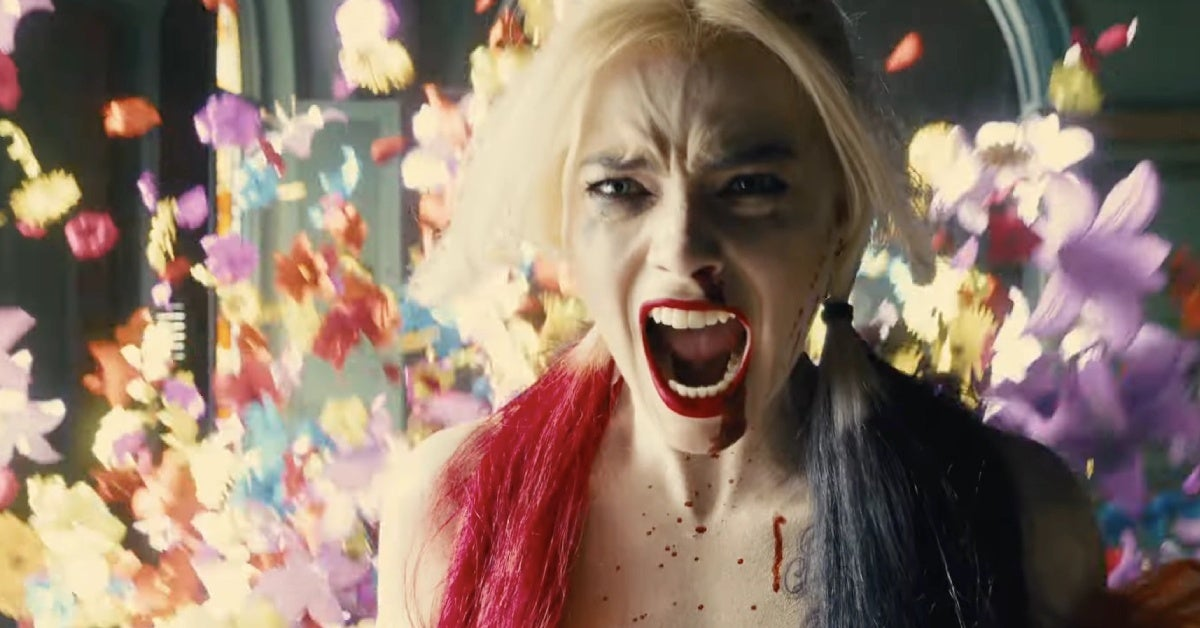 the suicide squad harley quinn fight scene