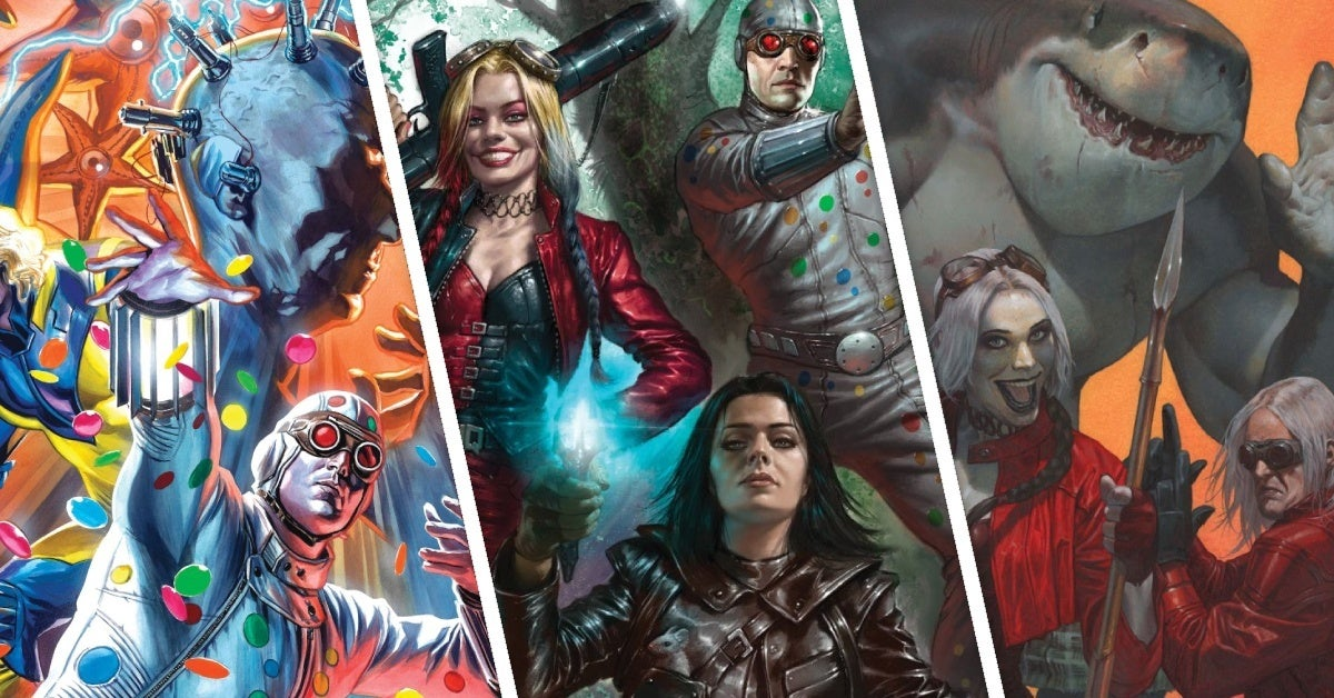 the suicide squad variant covers dc