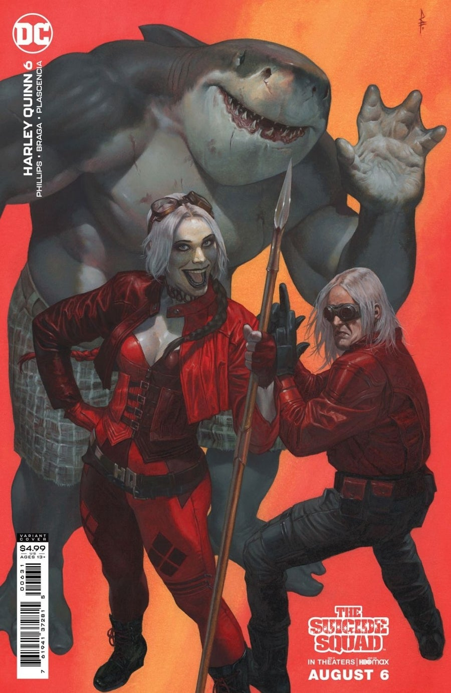 the suicide squad variant covers harley quinn 6