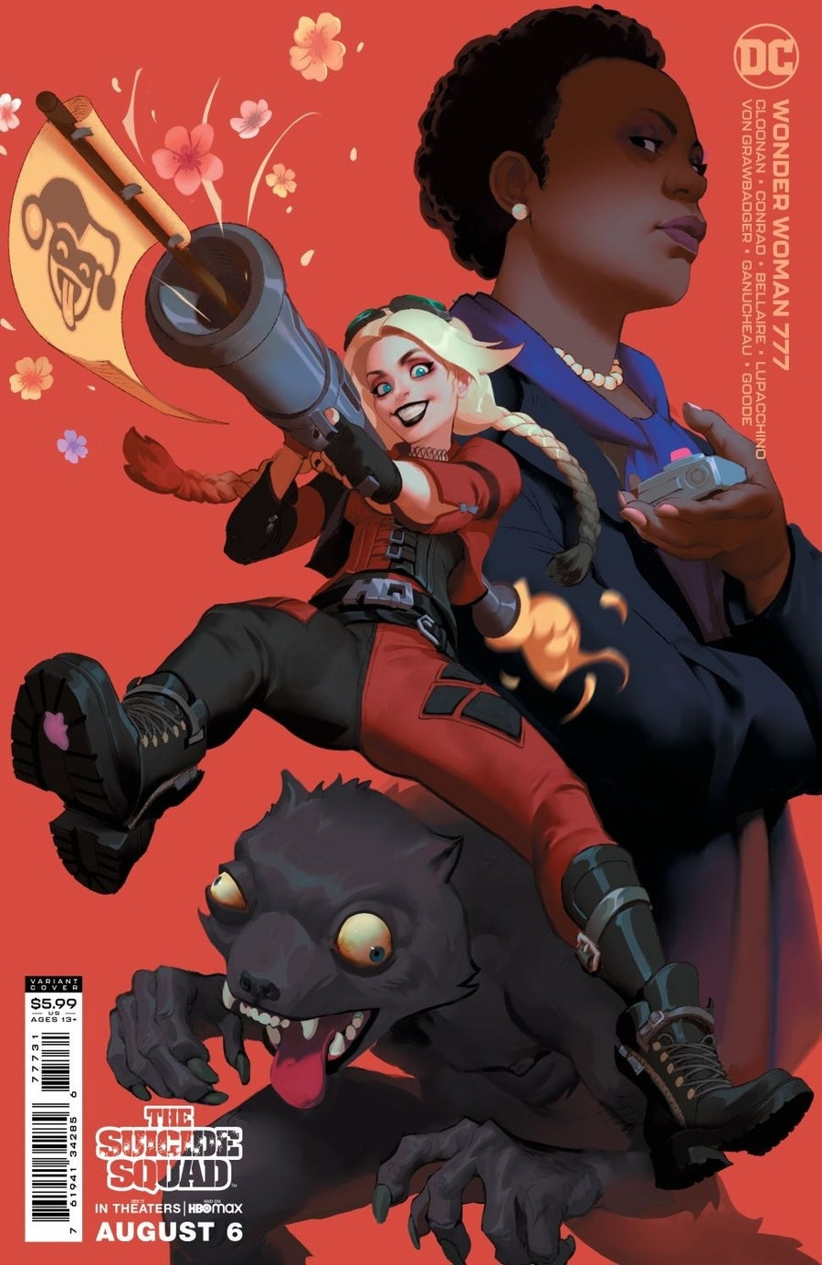 the suicide squad variant covers wonder woman 777