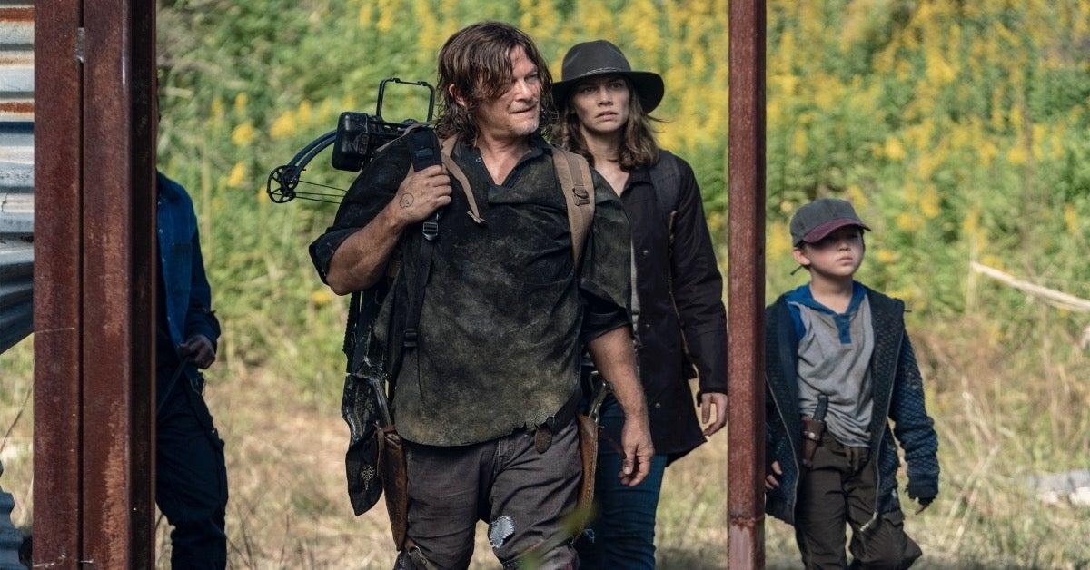 The Walking Dead Daryl Maggie
