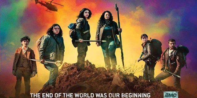 The Walking Dead World Beyond Season 1 Blu-ray cover