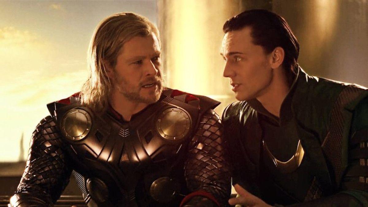 Thor 2011 Chris Hemsworth Tom Hiddleston Loki