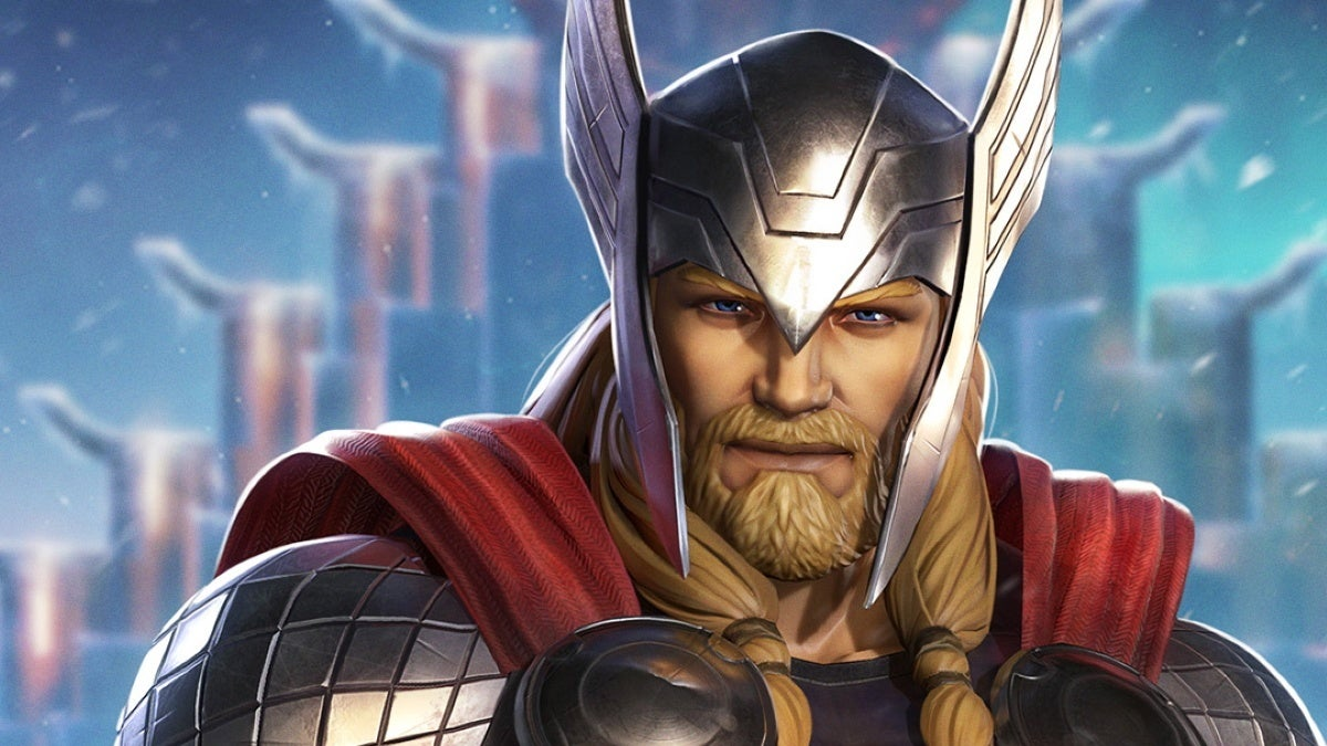 thor marvel realm of champions new cropped hed