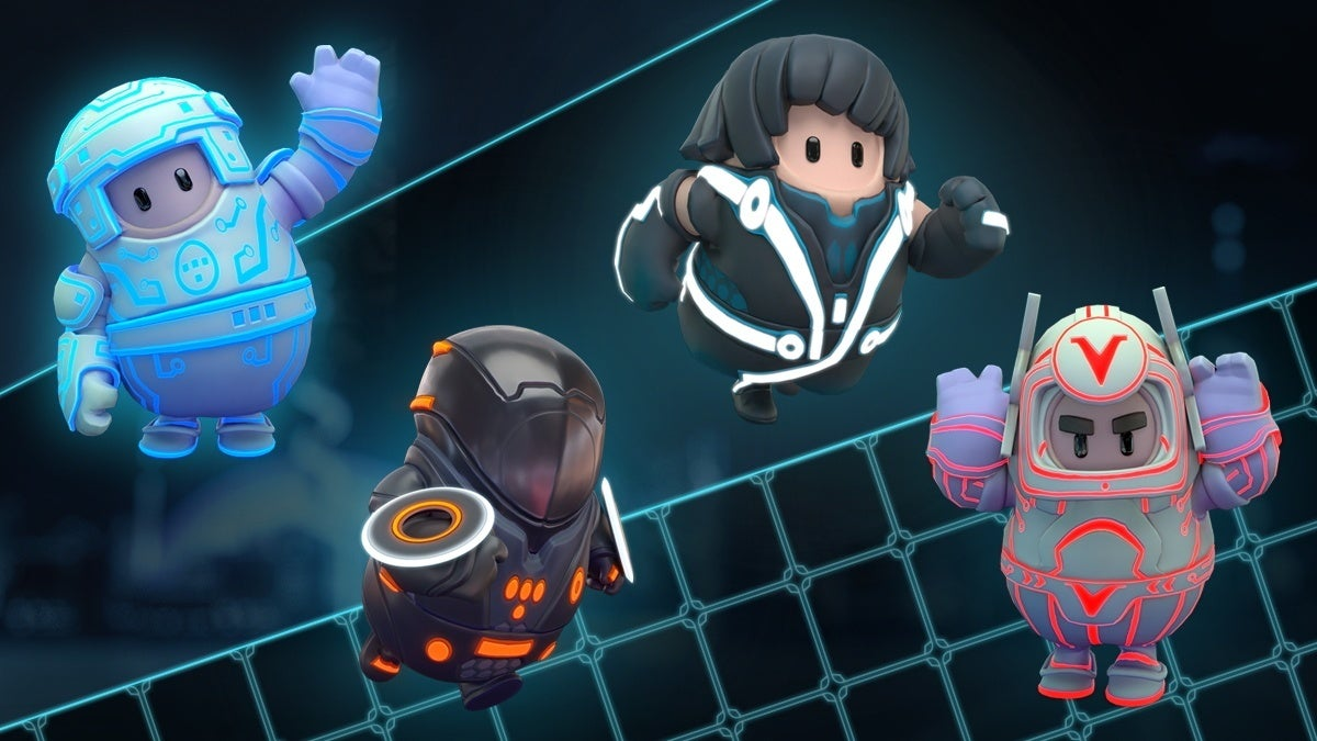 tron costumes fall guys new cropped hed