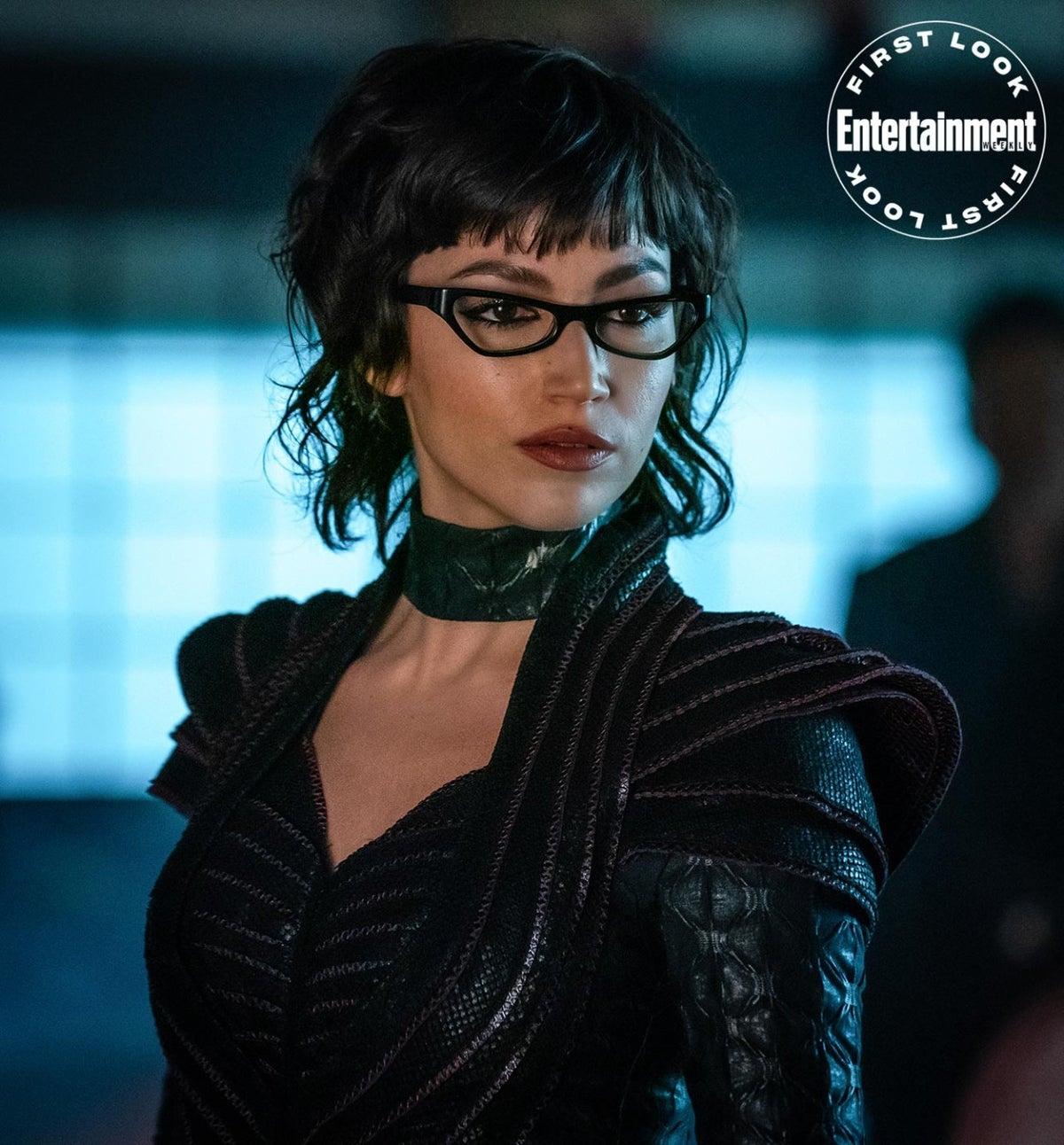 Úrsula Corberó as The Baroness in 'Snake Eyes.'