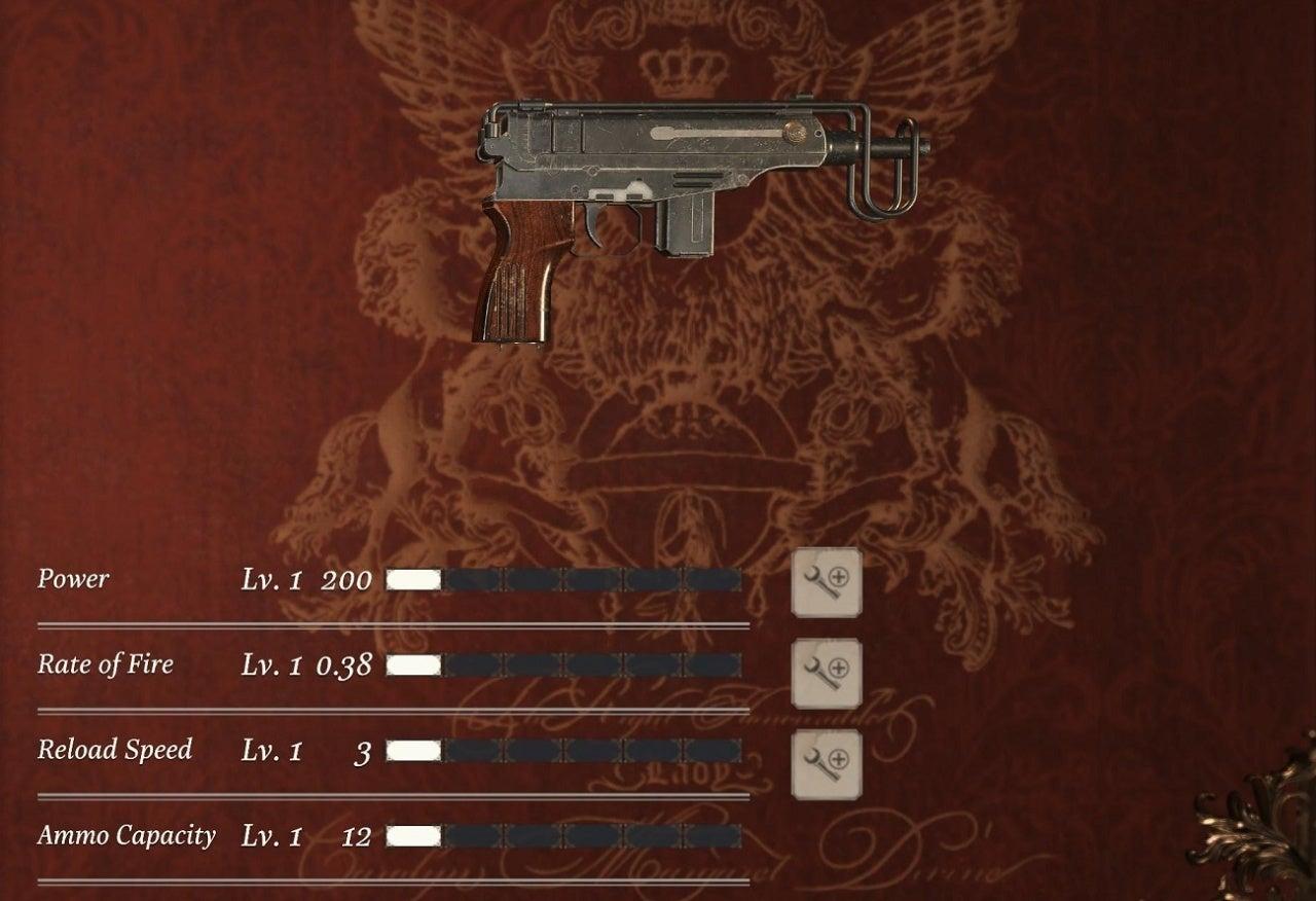 V61 Custom Handgun