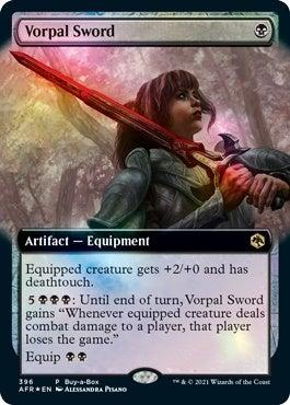 vorpal sword card