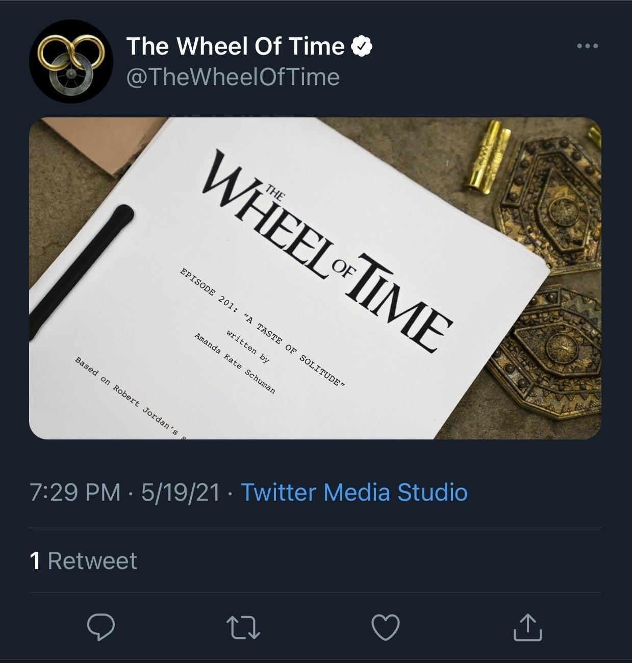 wheel of time tweet
