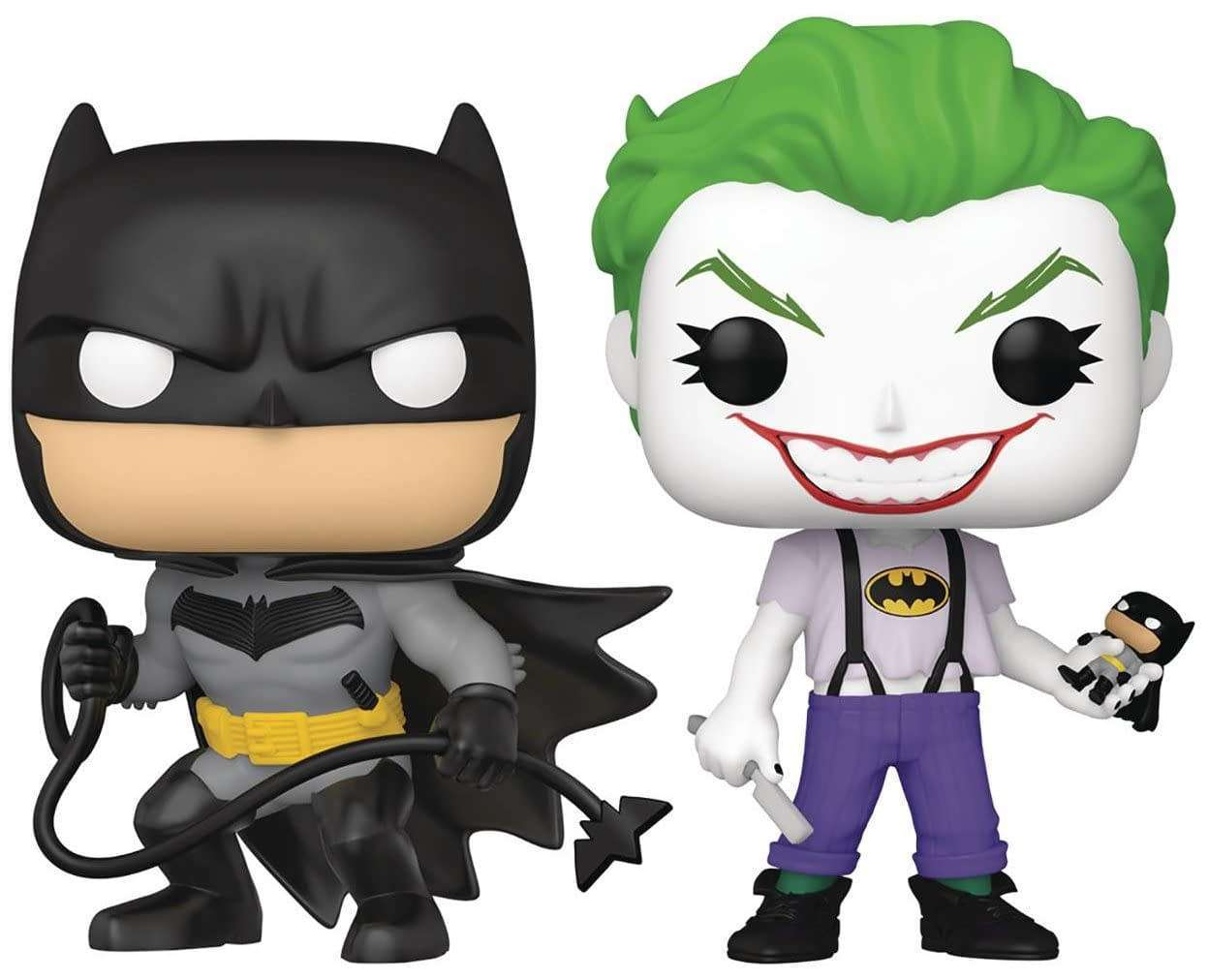 SDCC 2021 Exclusive Batman White Knight Funko Pop 2-Pack Is Up for Pre-Order