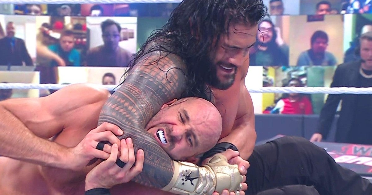 WWE-Roman-Reigns-Cesaro-Wrestlemania-Backlash-Hell-in-a-Cell
