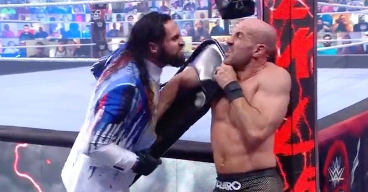 WWE-Seth-Rollins-Cesaro-WrestleMania-Backlash