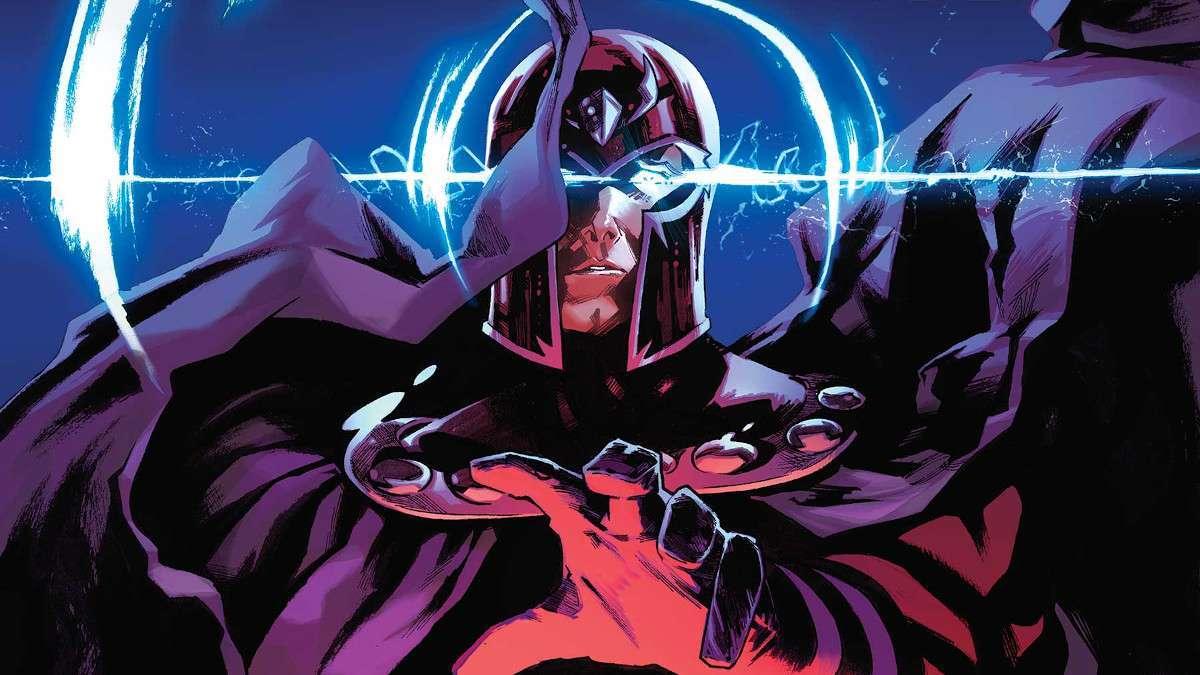 X-Men Trial of Magneto Marvel