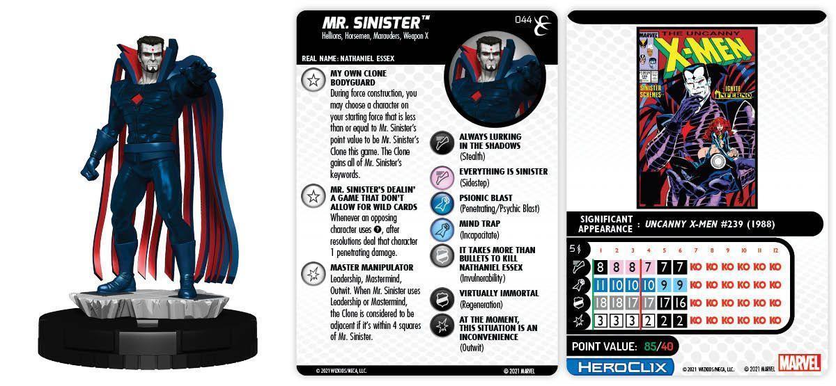 044 Mr. Sinister