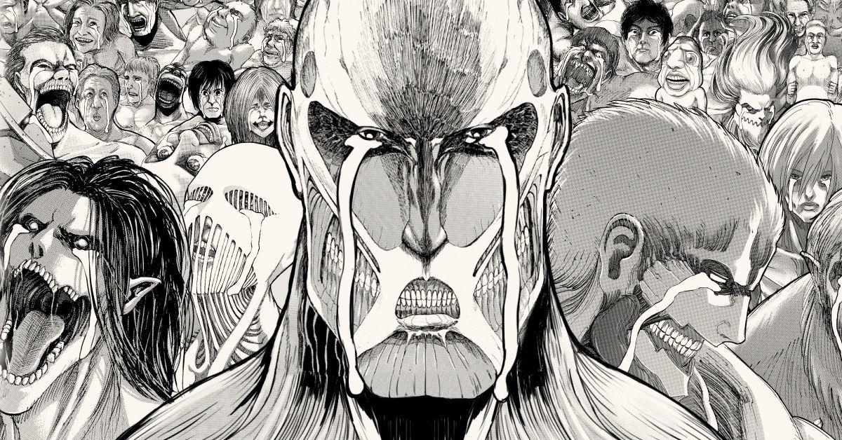 Attack on Titan Fan Mural 12 Years Finale