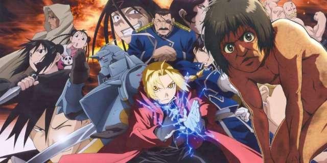 Attack On Titan Fullmetal Alchemist