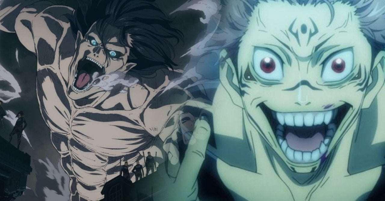 Attack On Titan Jujutsu Kaisen