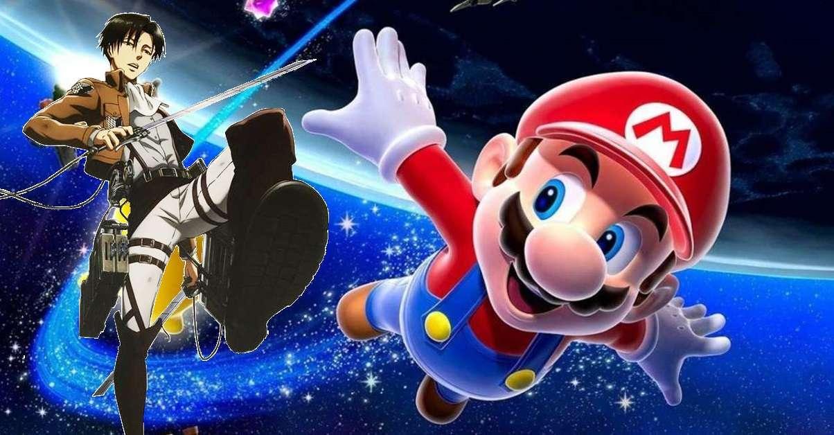 Attack On Titan Super Mario