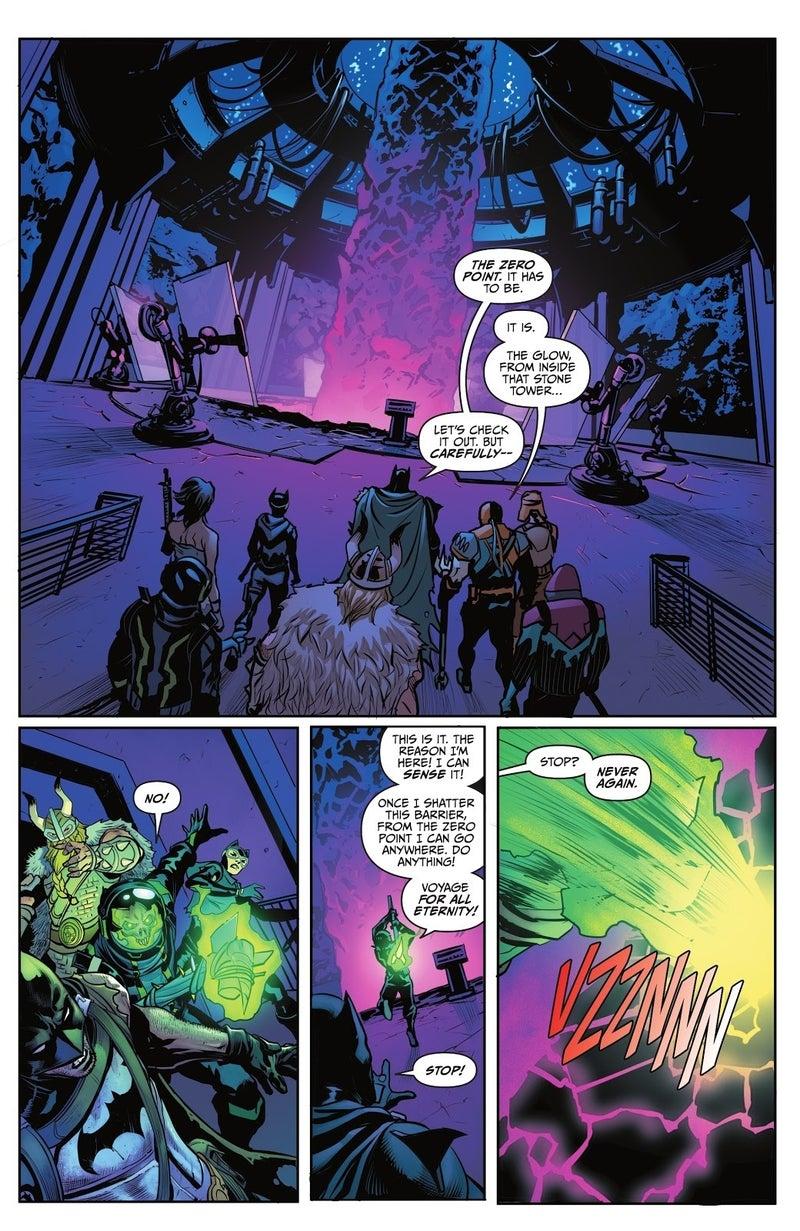 batman fortnite zero point 5 voyager death 1