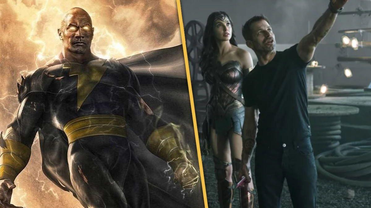 Black Adam Movie Zack Snyder Snyderverse