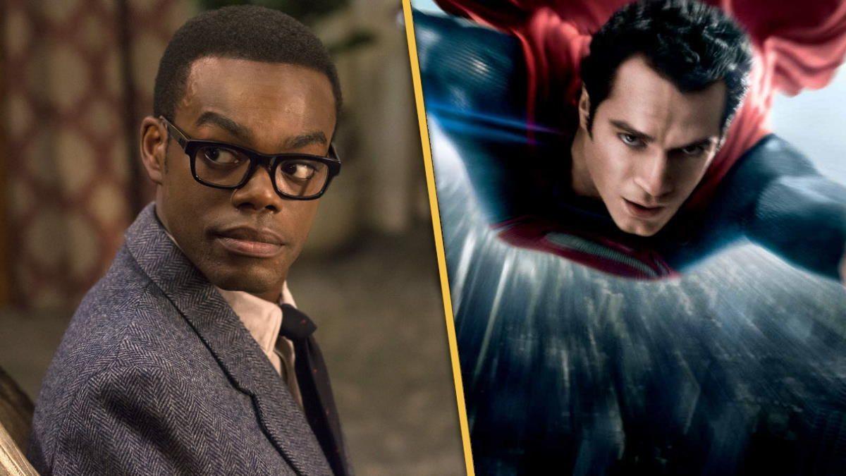 Black Superman Movie Actor William Jackson Harper