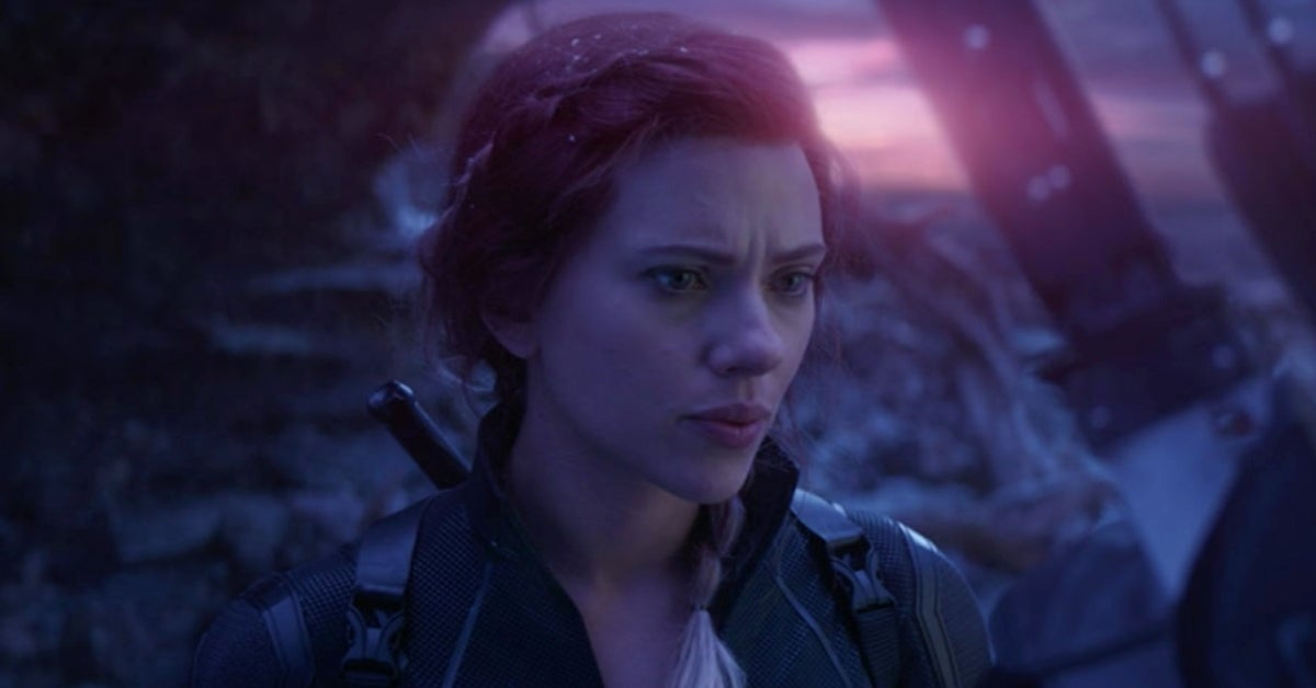 Black Widow Scarlett Johansson Natasha Avengers Endgame
