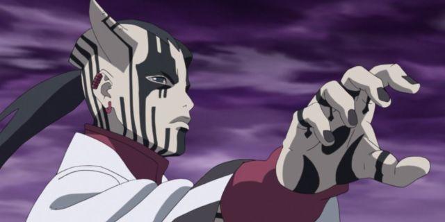 Boruto Naruto Jigen Karma Otsutsuki Anime