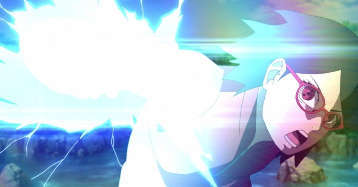 Boruto Naruto Sarada Chidori Training Update Anime