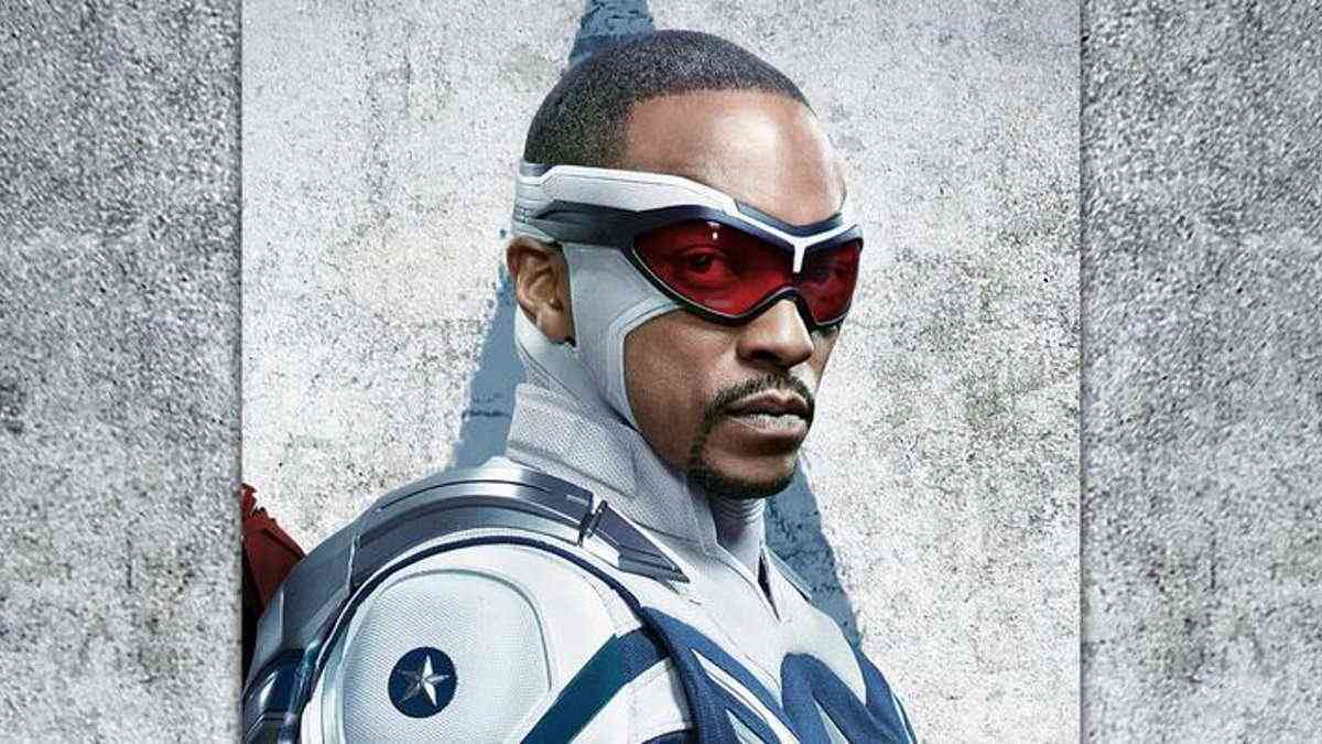 Captain America Anthony Mackie Sam Wilson Falcon