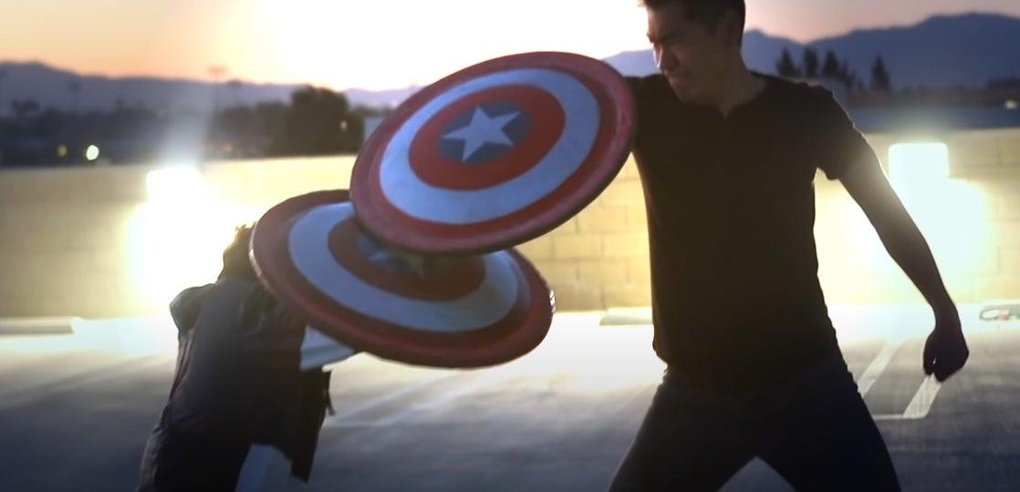 captain america fanmade shields