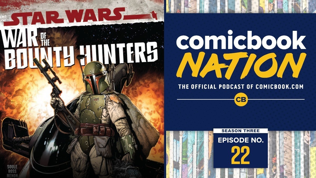 Comicbook Nation Podcast Conjuring 3 Star Wars War Bounty Hunters SPOILERS Spider Man Sinister Six